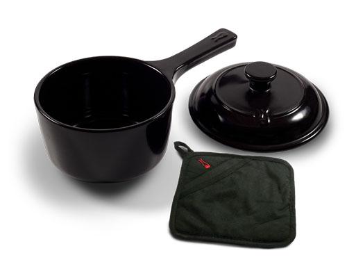 鼎上坩堝陶瓷鍋具~946毫升單把陶瓷湯鍋(型號99597)
