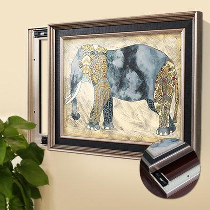 裝飾美畫 北歐現代液壓式隱藏電箱掛畫七天預購+現貨