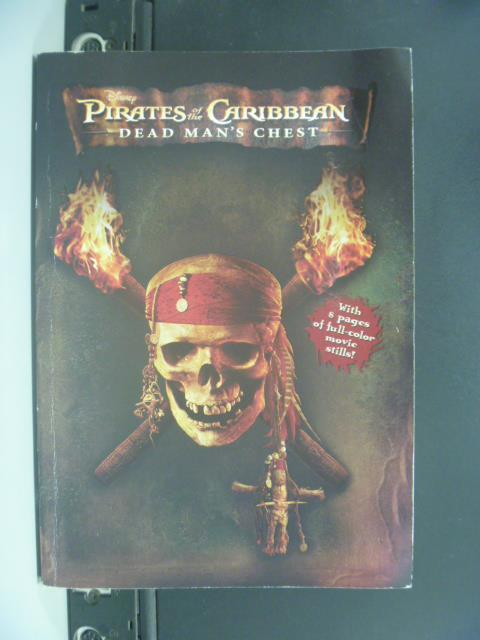 【書寶二手書T1/原文小說_OIJ】Pirates of the Caribbean: Dead Man's Chest