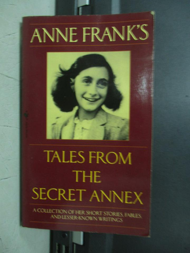 【書寶二手書T9/原文小說_NEY】Tales From The Secret Annex_Anne Frank's