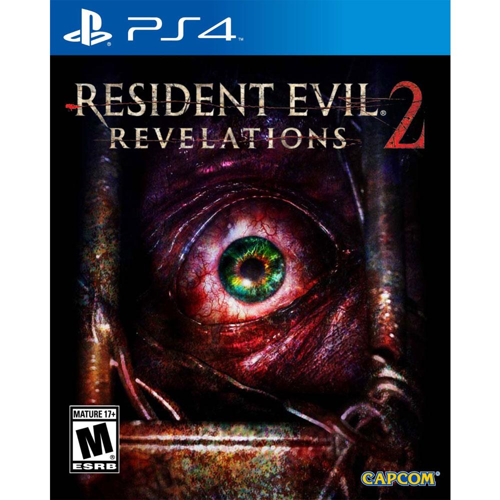 PS4 惡靈古堡:啟示 2 中英日文美版 Residet Evil Revelations 2