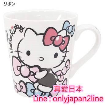 【真愛日本】15081400006馬克杯-KT多結   三麗鷗 Hello Kitty 凱蒂貓   馬克杯 水杯  杯子 正品