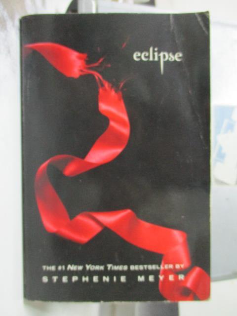 【書寶二手書T6/原文小說_OCZ】Eclipse_Stephenie Meyer