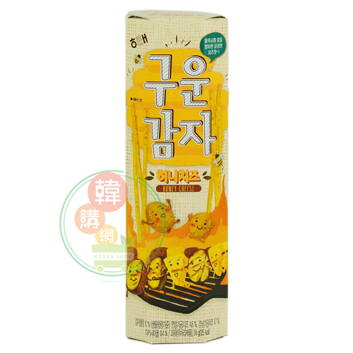 【韓購網】韓國HAITAI烘焙馬鈴薯棒(蜂蜜起司味)24g★香脆的長條形烘焙薯棒★韓國零食