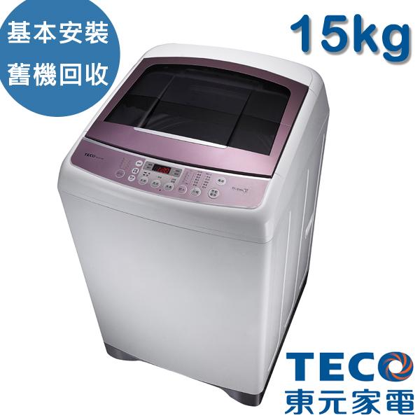 [TECO東元]15kg變頻洗衣機(W1591XW)