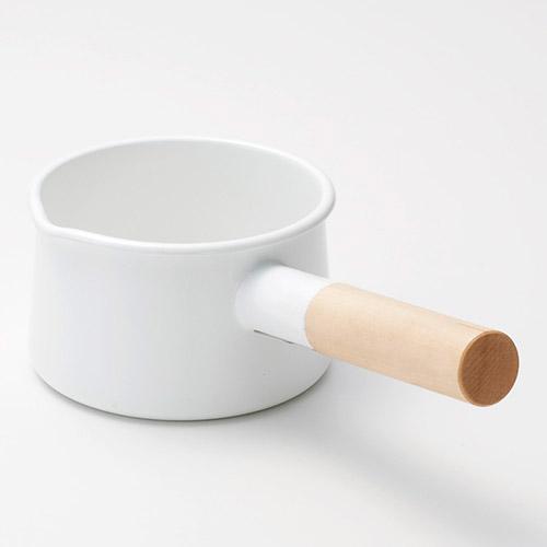 《kaico》 簡約風 琺瑯牛奶鍋 - S尺寸