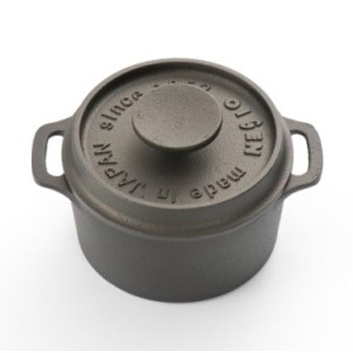 《及源鑄造》鑄鐵迷你烤鍋 - 10cm圓型款