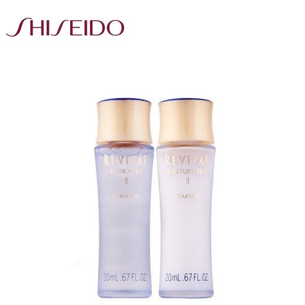 SHISEIDO資生堂 莉薇特麗  全效化妝水 20ml +全效乳液 20ml 一組《Umeme》