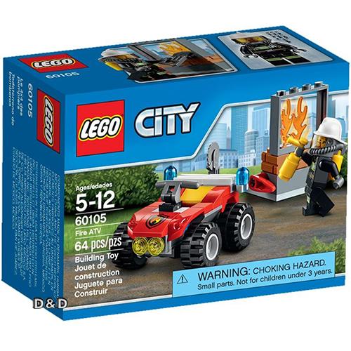 樂高積木LEGO《 LT60105 》2016 年 CITY 城市系列 - 全地形消防車