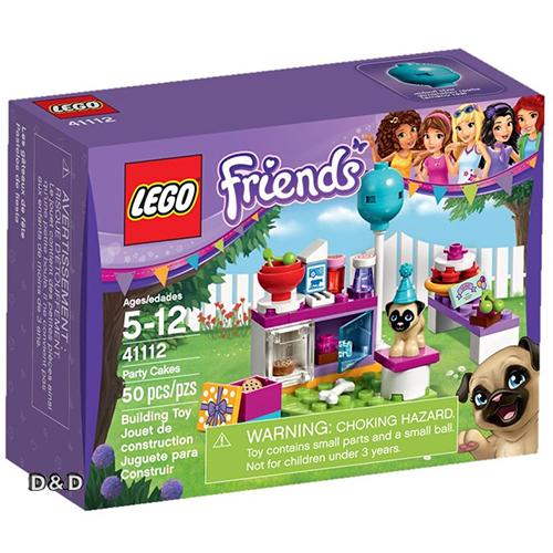 樂高積木LEGO《 LT41112 》2016 年 Friends 姊妹淘系列 - 派對蛋糕