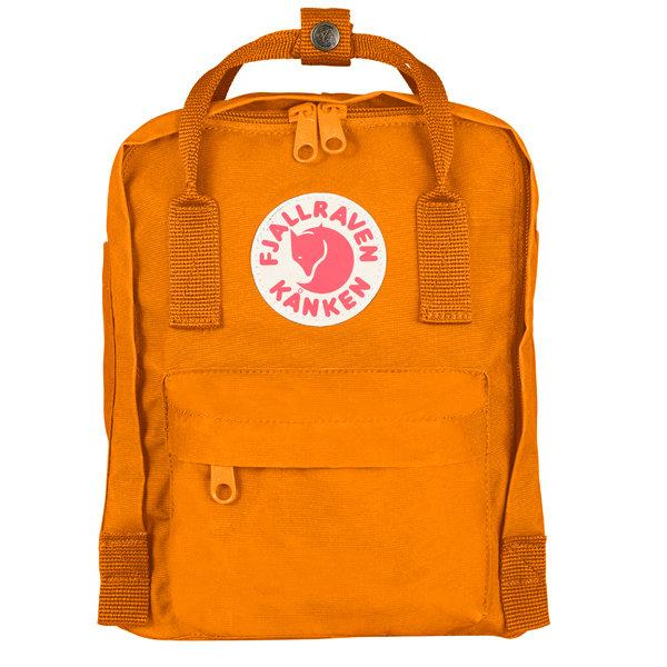 ├登山樂┤瑞典Fjallraven Kanken mini  復古後背包/方型書包 # 23561 (212 焦橘)