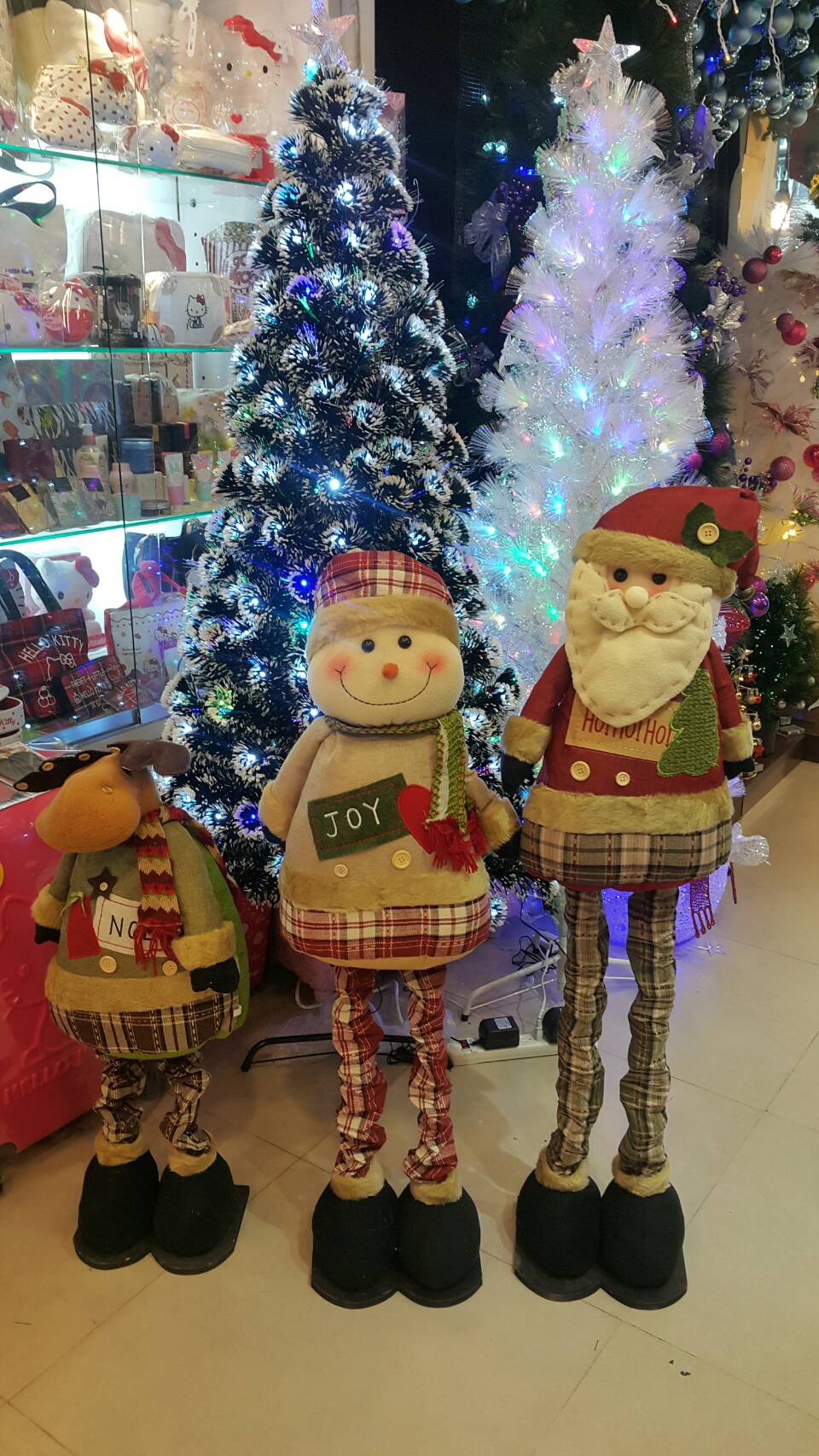 X射線 90cm伸縮擺飾(綜合下標區),聖誕麋鹿/聖誕擺飾/聖誕禮物袋/聖誕老人衣服/老公公/雪人