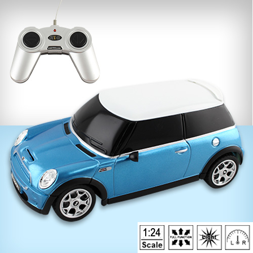 【瑪琍歐玩具】1:24 MINI COOPER S 遙控車