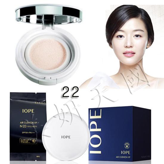 韓國原裝 ~IOPE  XP系列-S22號-打亮『 Air Cushion 氣墊粉餅(一組2個粉餅芯)』