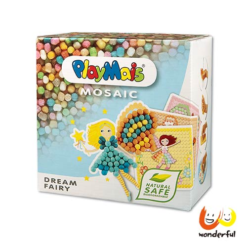 Playmais 玩玉米創意黏土馬賽克-精靈仙子