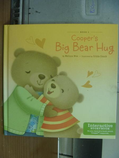 【書寶二手書T1/語言學習_MPE】Cooper's big bear hug