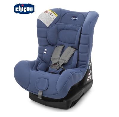 義大利【Chicco】Eletta 寶貝舒適全歲段安全汽座(汽車安全座椅)(經典藍)