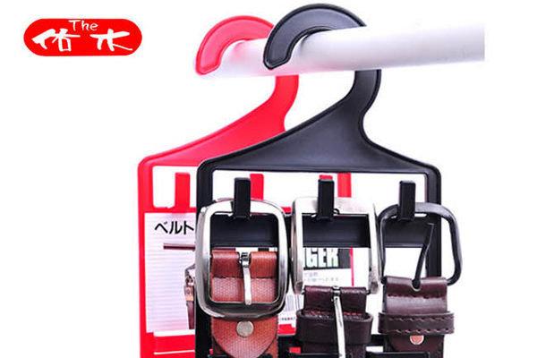 BO雜貨【SV2331】日本皮帶專用掛鈎 皮帶掛鉤 皮帶收納 領帶 衣物收納 衣櫃收納