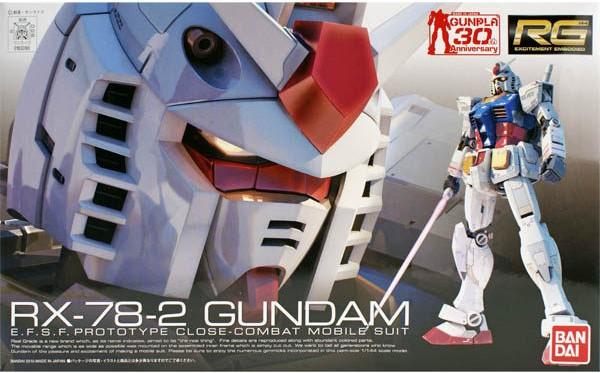 ◆時光殺手玩具館◆ 現貨 組裝模型 模型 鋼彈模型 BANDAI RG 1/144 機動戰士鋼彈 RX-78-2 初代鋼彈 初鋼
