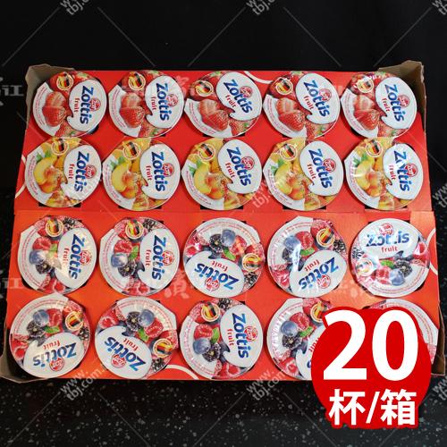 補貨中【台北濱江】zottis綜合口味優格100g/杯x20杯/箱