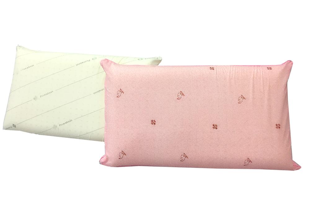 米粒爸爸@高科技平面乳膠枕 透氣不變形 附枕套