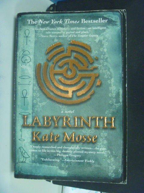 【書寶二手書T2/原文小說_MFF】Labyrinth_Mosse, Kate