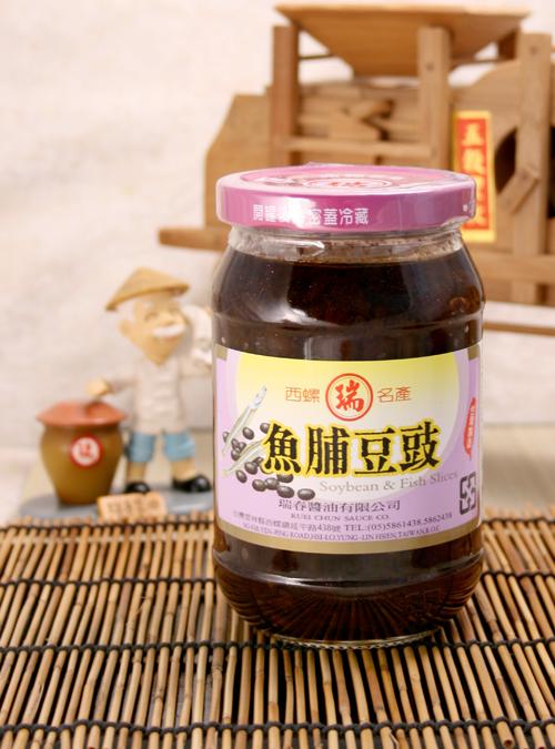 【瑞春醬油】魚脯豆豉