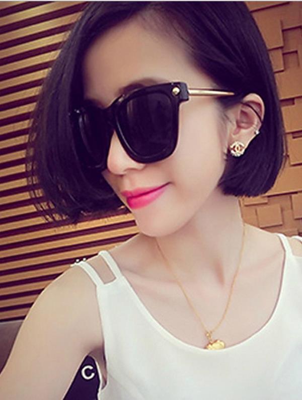 50%OFF【J003727Gls】個性金屬圓形腿太陽眼鏡大框大臉女士墨鏡潮眼鏡  附眼鏡盒 防紫外線 明星款 反光鏡面