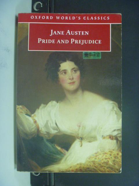 【書寶二手書T9/原文小說_NRP】Pride and Prejudice_Austen, Jane