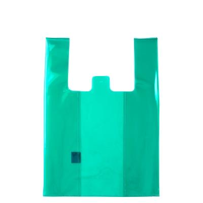 le-junev 正韓 透明系海灘防水手提包 (綠)