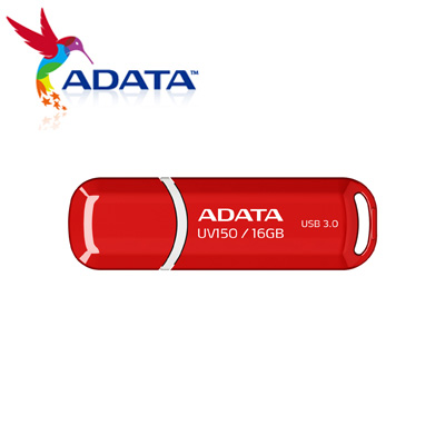 威剛 A-DATA 隨身碟 UV150 USB3.0  16G 紅 / 個