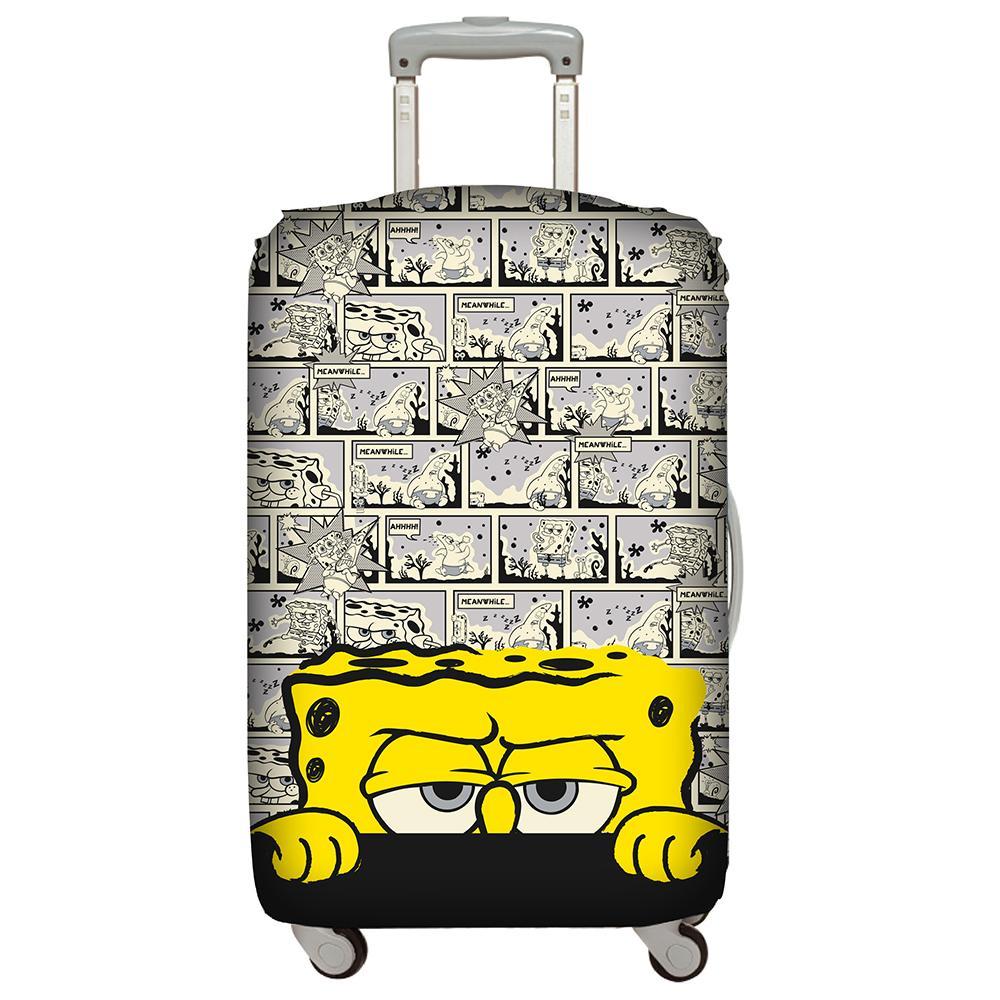 【騷包館】LOQI 德國品牌 時尚高防護防塵行李箱套(M號)==海綿寶寶 LO-LMSB01