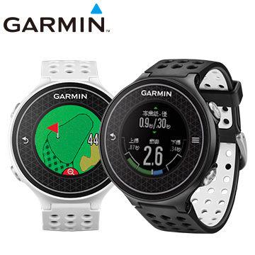 GARMIN Approach S6 極輕薄高爾夫GPS腕錶 (黑/白)