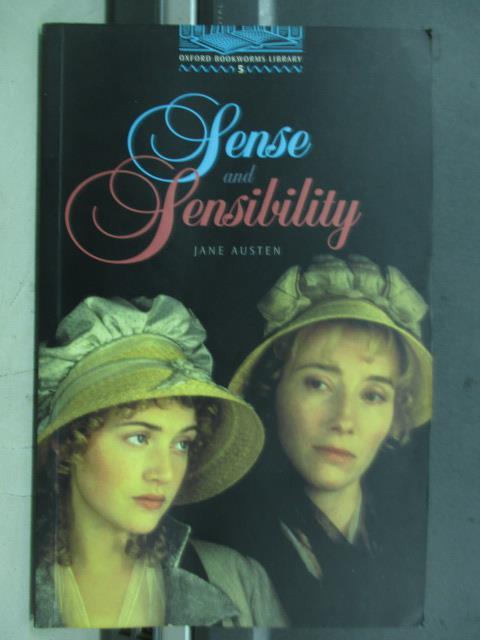 【書寶二手書T1/語言學習_MNL】Sense and sensilility_jane austen
