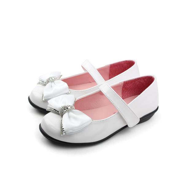 娃娃鞋 白 大童 no134