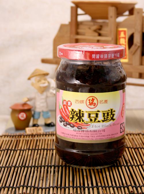 【瑞春醬油】辣豆豉