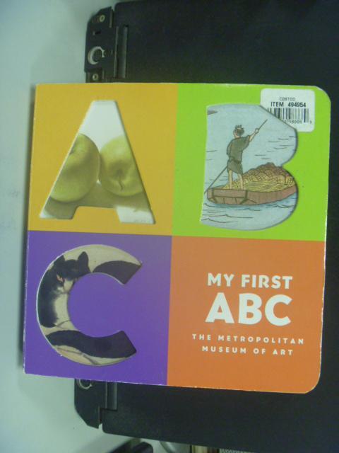 【書寶二手書T8/少年童書_HKR】My First ABC_Metropolitan Museum