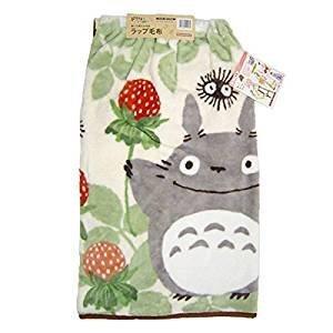 【真愛日本】14100600001 披圍毛毯80*115-龍貓紅莓 龍貓 TOTORO 豆豆龍 毛毯 膝上毯 被子