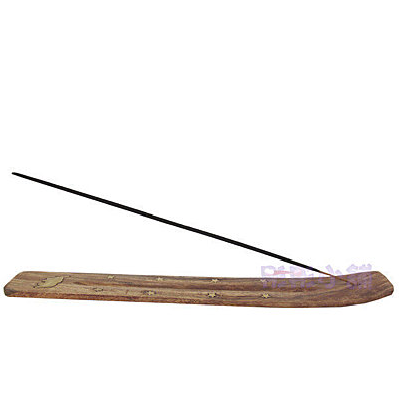 【彤彤小舖】印度手工線香板--原木色 Gonesh線香可使用