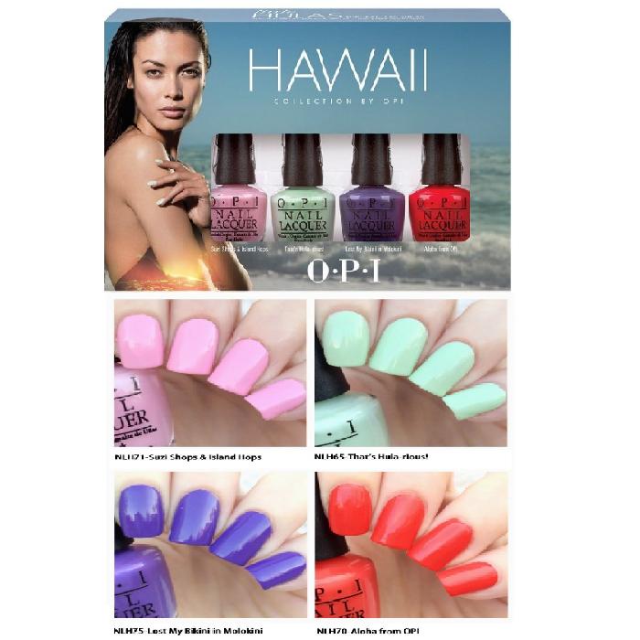 【彤彤小舖】OPI HAWAII 指甲油浪漫夏威夷迷你組 3.75ml*4瓶組