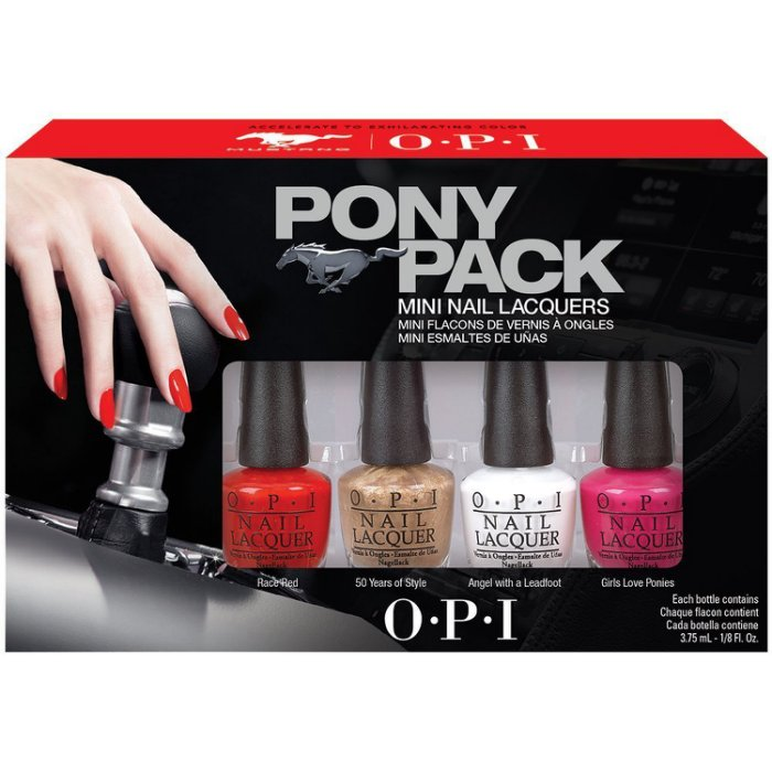 【彤彤小舖】OPI Pony Pack 福特野馬 迷你指甲油組 4瓶裝