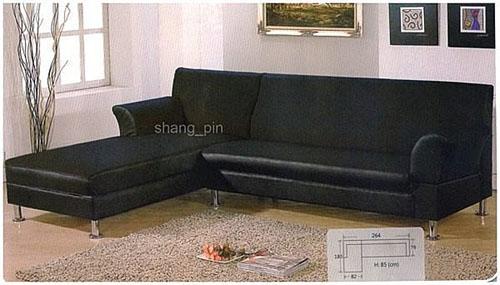 【尚品家具】※超低價特賣※ K-201-02 厚皮乳膠L型沙發組~有綠、紅、藍、黑可選擇,有左右方向~台灣製造