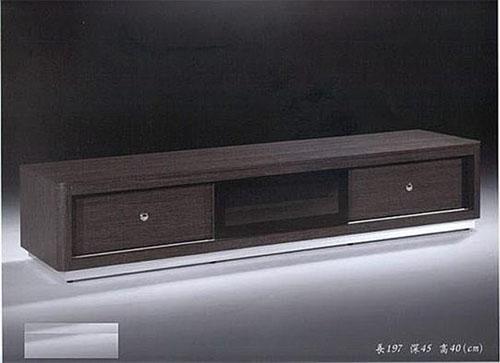 【尚品傢俱】222-01 可可黑鐵刀色6.5尺電視櫃長櫃矮櫃~台中市部分免運
