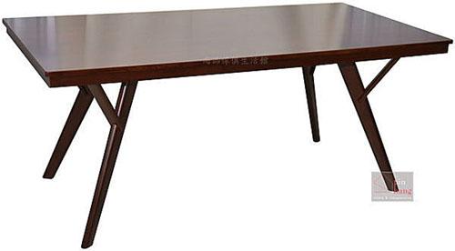 【尚品傢俱】242-07 都會 6尺橡木實木餐桌/居家休閒桌/家庭聚餐桌/餐廳桌/飯桌