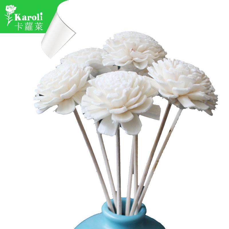karoli卡蘿萊 擴香水竹精油專用~純手工藤棒造型花