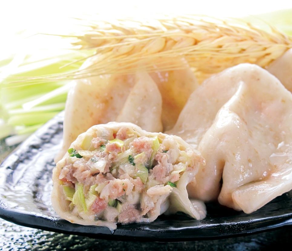 多餃舍-韭黃牛肉水餃 20粒/包