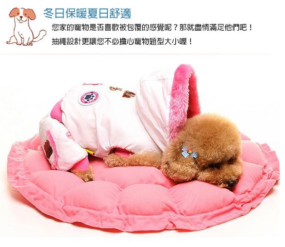 柔軟寵物抽繩兩用床窩 免運