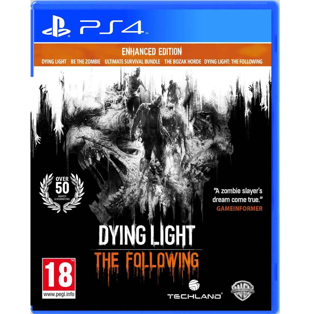 PS4 垂死之光 強化版 英文歐版 Dying Light: The Following Enhanced