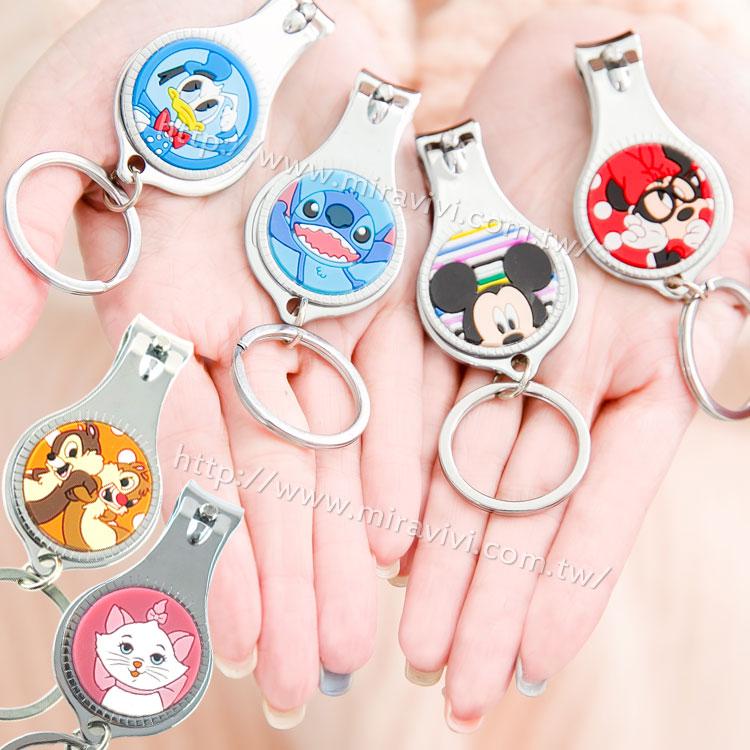 【Disney 】可愛硅膠圖案指甲剪/指甲刀