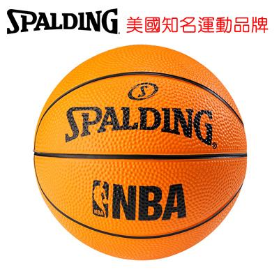 永昌文具【SPALDING】 斯伯丁 NBA No.1 迷你小球系列 SPA66995 NBA NO.1 迷你小球-專業橘 籃球 1號 /個